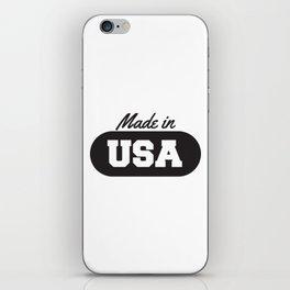 Made in USA iPhone Skin