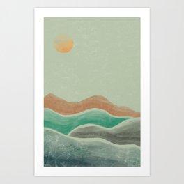 EQUANIMITY Art Print