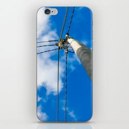 Light pole iPhone Skin