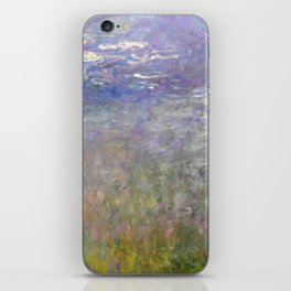 Water Lilies Painting by Claude Monet iPhone Skin