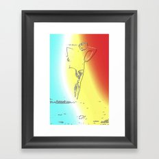 Woman Emerging (f) Framed Art Print