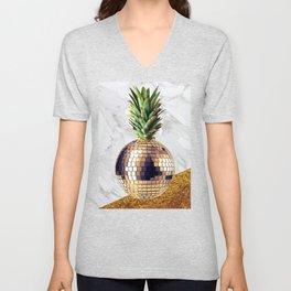 ananas party limited edition Unisex V-Neck