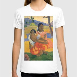 Affordable Art $300,000,000 When Will You Marry by Paul Gauguin T-shirt