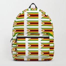 Flag of zimbabwe -Zimbabwe,Zimbabwean,Zimbo,harare,Bulawayo Backpack