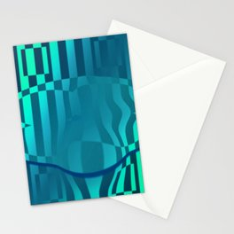 Crazy distorted ... Stationery Cards