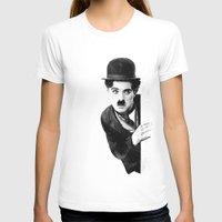 chaplin T-shirts featuring MR CHAPLIN by John Medbury (LAZY J Studios)