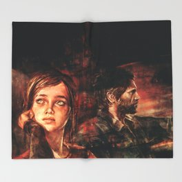 The Road Less Traveled Throw Blanket