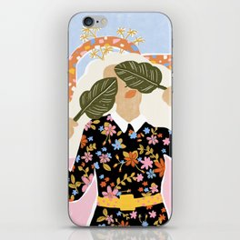 I Can't See You iPhone Skin