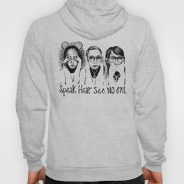 Speak, Hear, See No Evil STUK GIRLS Hoody
