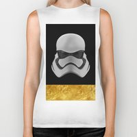 storm trooper Biker Tanks featuring Storm trooper by berd.