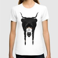 warrior T-shirts featuring Bear Warrior by Ruben Ireland
