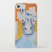 donkey iPhone & iPod Cases featuring DONKEY by Leonard Lesic