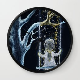 Childhood is Magical Wall Clock