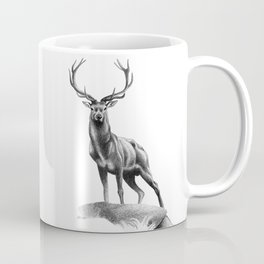 All Muscle - Red Deer Stag Coffee Mug
