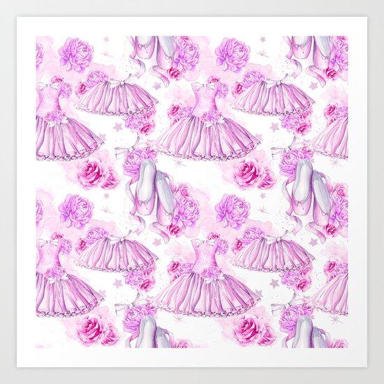 Ballerina #4 Art Print