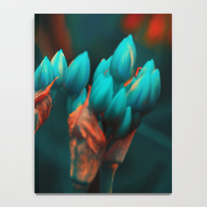 Floral abstract (17) Notebook