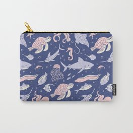 Sea Medley Carry-All Pouch