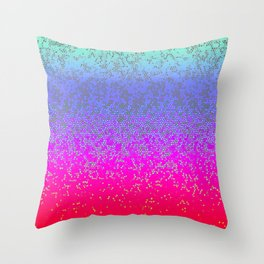 Glitter Star Dust G244 Throw Pillow