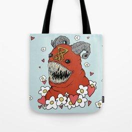 Lovey Devil Tote Bag