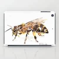 bee iPad Cases featuring Bee by Elena Sandovici