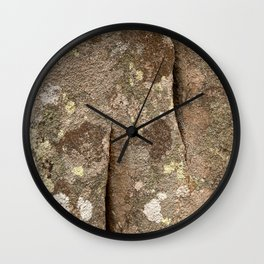 Megalith Stone Texture Wall Clock