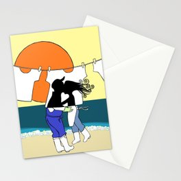 Fisherman's Love Story Stationery Cards