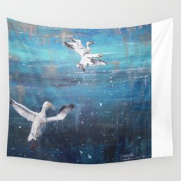Cleared for Landing Wall Tapestry