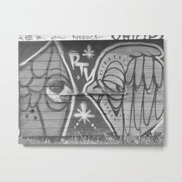 #Graffiti - Fish Cabin - Noface - Ohlone - Old Crow Metal Print
