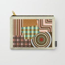 Wyoming State Map Carry-All Pouch