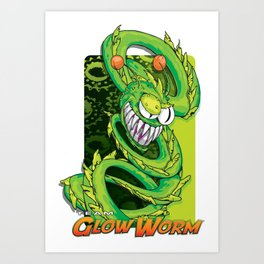 Team Glow Worm Art Print
