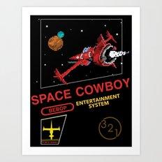 NES Cowboy Bebop Art Print