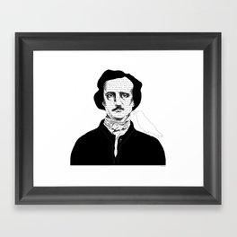 Persistence of Poe Framed Art Print