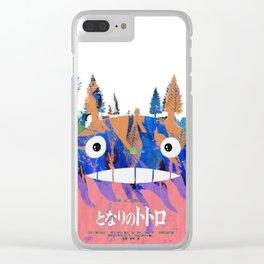 Toto Ro (Miyazaki) Clear iPhone Case