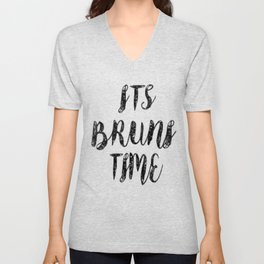 IT'S BRUNI TIME Unisex V-Neck