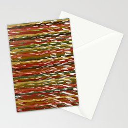 Wind Dancing with Autumn Leaves at the Harvest Ball Stationery Cards