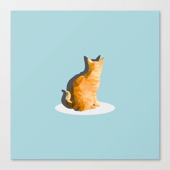 back cat Canvas Print