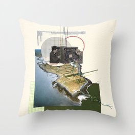 Are We Connected Throw Pillow