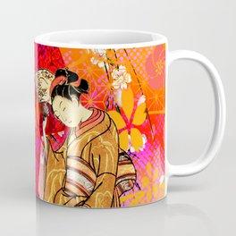 日没 (sunset) Coffee Mug