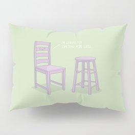 Something More Stable #kawaii #chair Pillow Sham