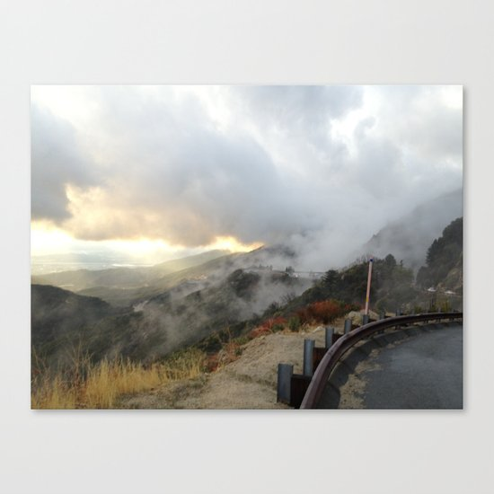 Outside Twin Peaks 4 Canvas Print