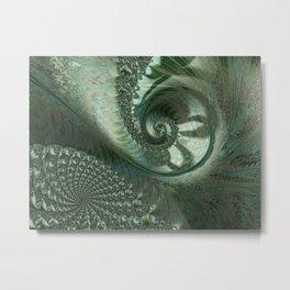 Snails Pace Metal Print