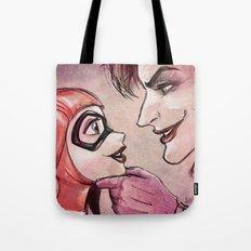 Harley Quinn & Joker Tote Bag
