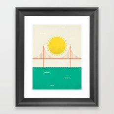 Sunny SF Framed Art Print