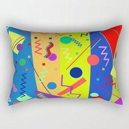 Memphis #59 Rectangular Pillow