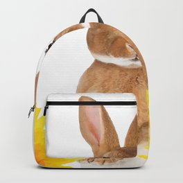 Sunflower Rabbit Backpack