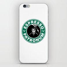 espresso patronum iPhone & iPod Skin