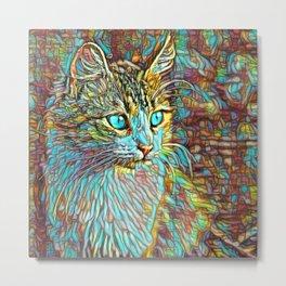 ColorMix Kitten 1 Metal Print
