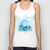 twilight Tank Tops featuring Twilight by Lynette Sherrard Illustration and Design