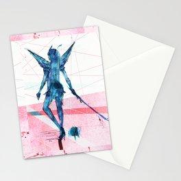 No Hero No Villian Blue Stationery Cards