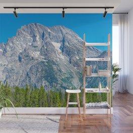 Rocky Mountains Nature Grand Teton National Park Wyoming Print Wall Mural